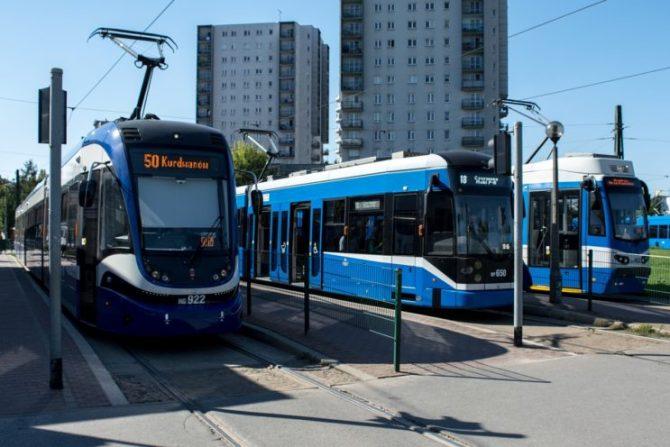 zrównoważony transport tramwaje kraków