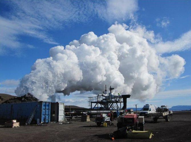 energia geotermalna islandia IDDP-1