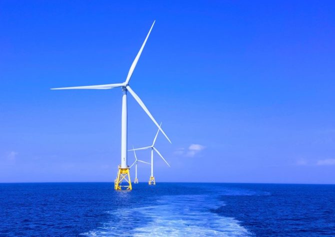 morska farma wiatrowa Block Island
