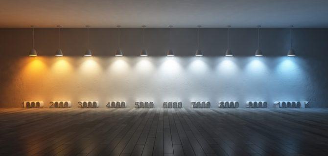 oświetlenie LED temperatura barwowa