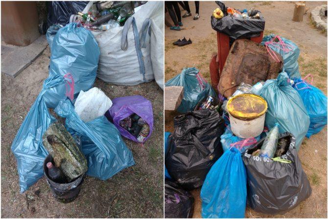 walka z plastikiem sprzątanie rzeki