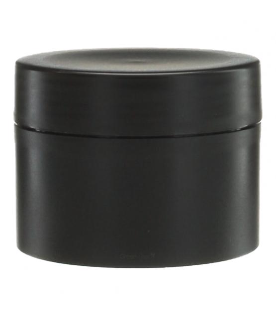 pot en plastique noir 100ml avec couvercle a vis noir 1 piece potion co