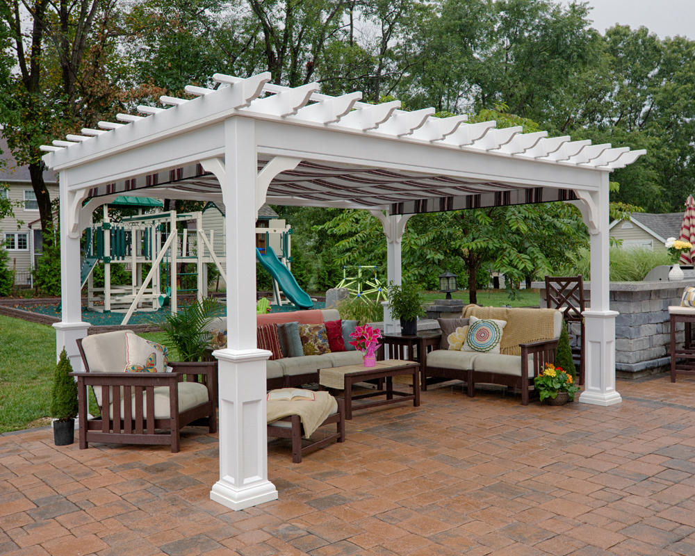 Vinyl Pergolas Green Acres Outdoor Living