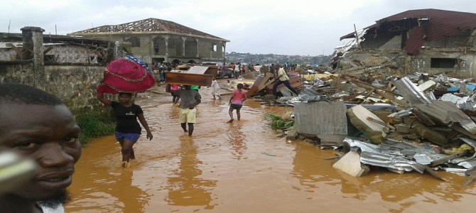 Climate Change and surface flooding in Sierra Leone
