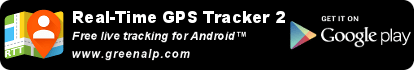 Free real-time tracking. Free GPS tracker. Show your location live on a map. Free for your Android phone.