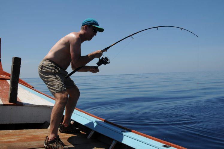 Fishing from Khao Lak on the Andaman Sea