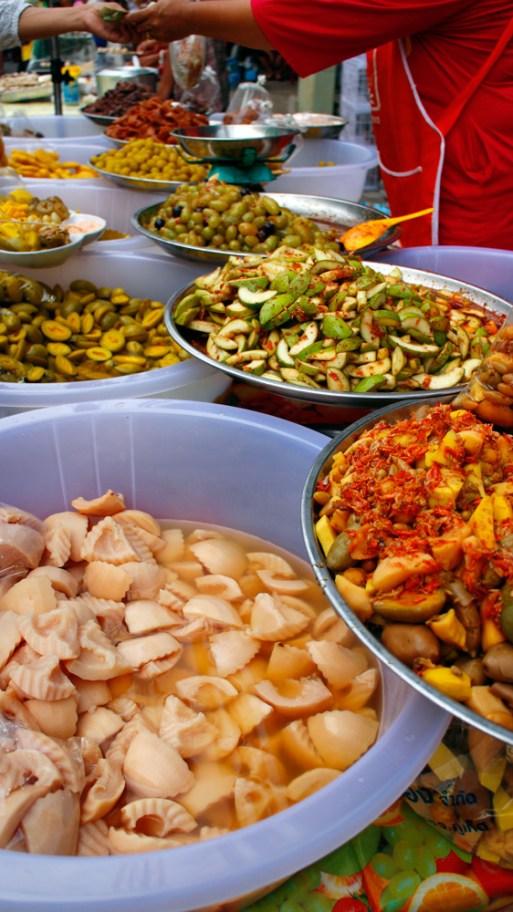 Polamai dong - Pickled fruit