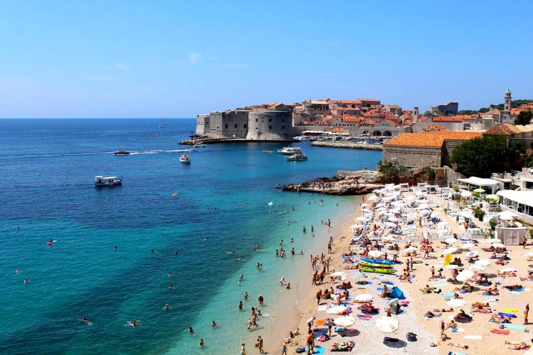 Dubrovnik, Banje Beach