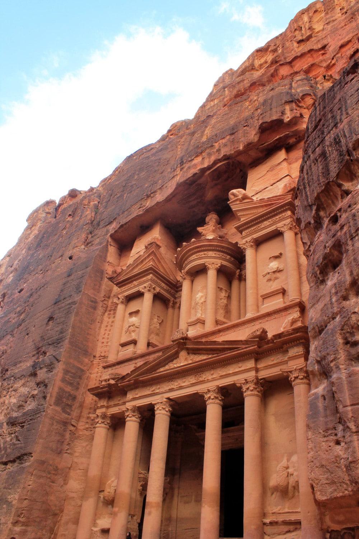 Treasury at Petra Jordan Facade