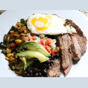 Marinated Arrachera Angus Beef & Black Bean Salad Meal