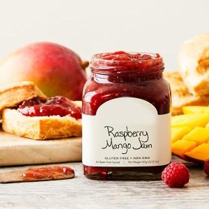 Raspberry Mango Jam
