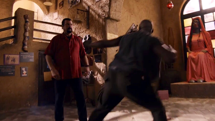 """STEVEN SEAGAL & MIKE TYSON'S """"CHINA SALESMAN"""" COMING TO DVDXPRESS"""