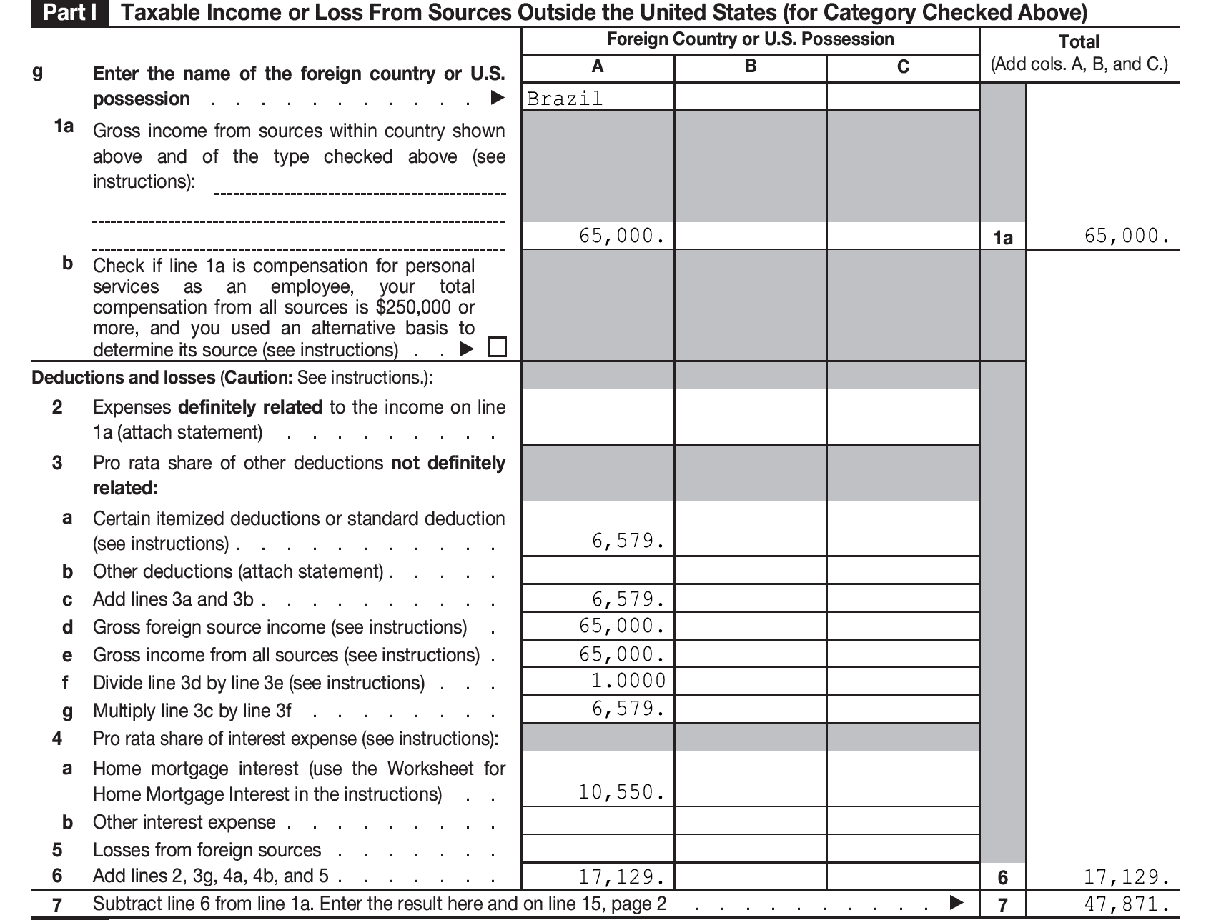 Irs S Worksheet
