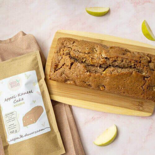 Appel-Kaneel Cake Bakmix