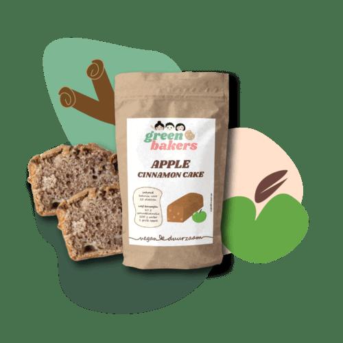vegan appel kaneel cake