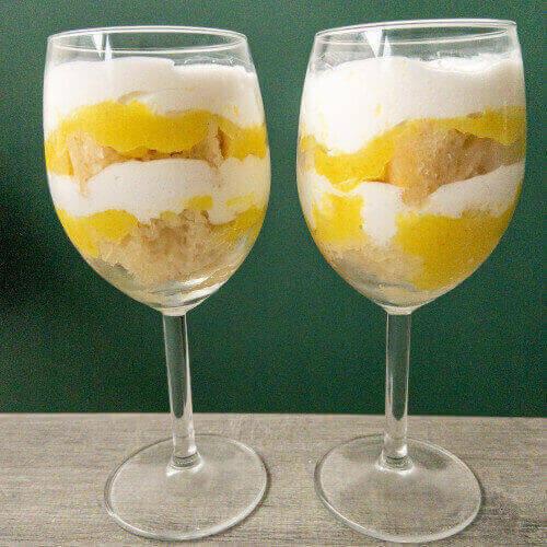 frisse citroen trifle