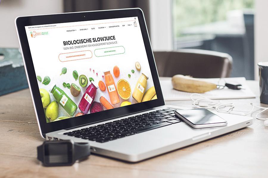 webshop ontwikkeling Green Carrot