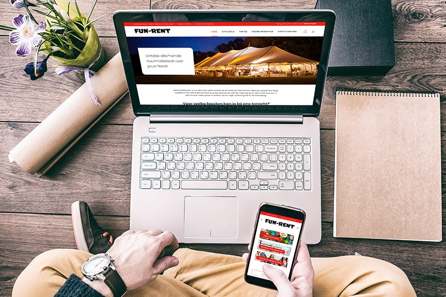 webdesign Fun Rent