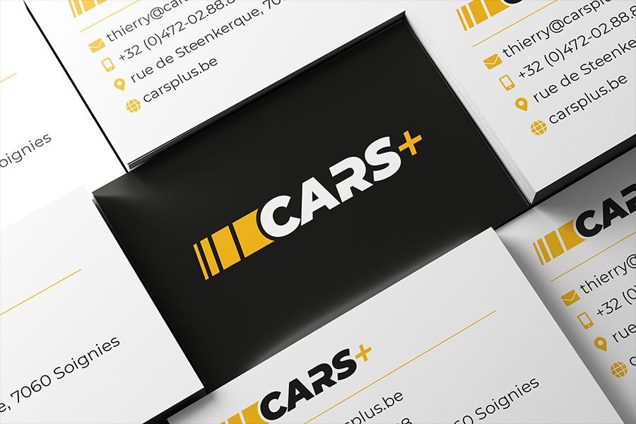 Cars+ visitekaartjes