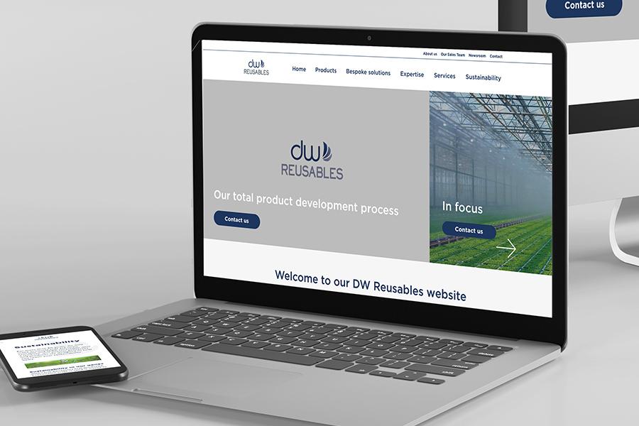 DW Reusables website laten maken