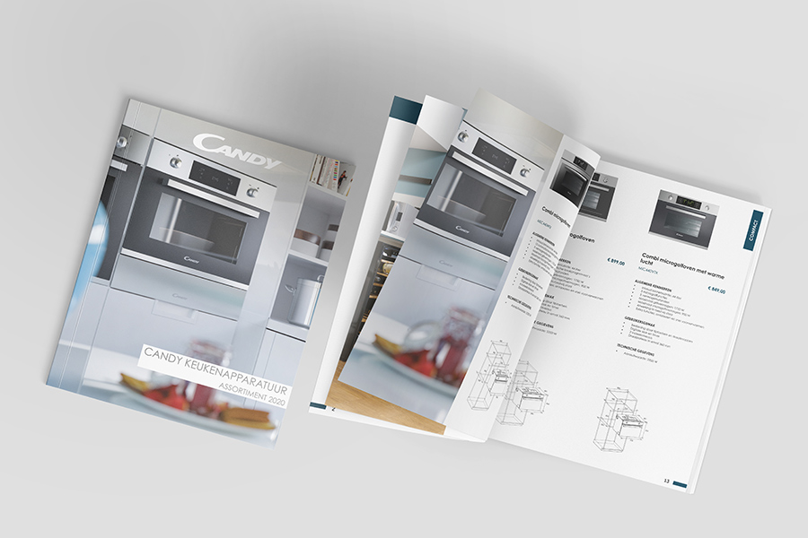 catalogus Candy ontwerp