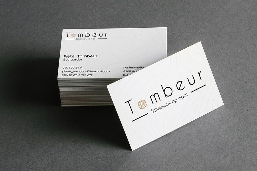 visitekaartjes Tombeur