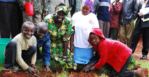 Join us in keeping Wangari Maathai's legacy alive by planting trees and getting involved in your own community!