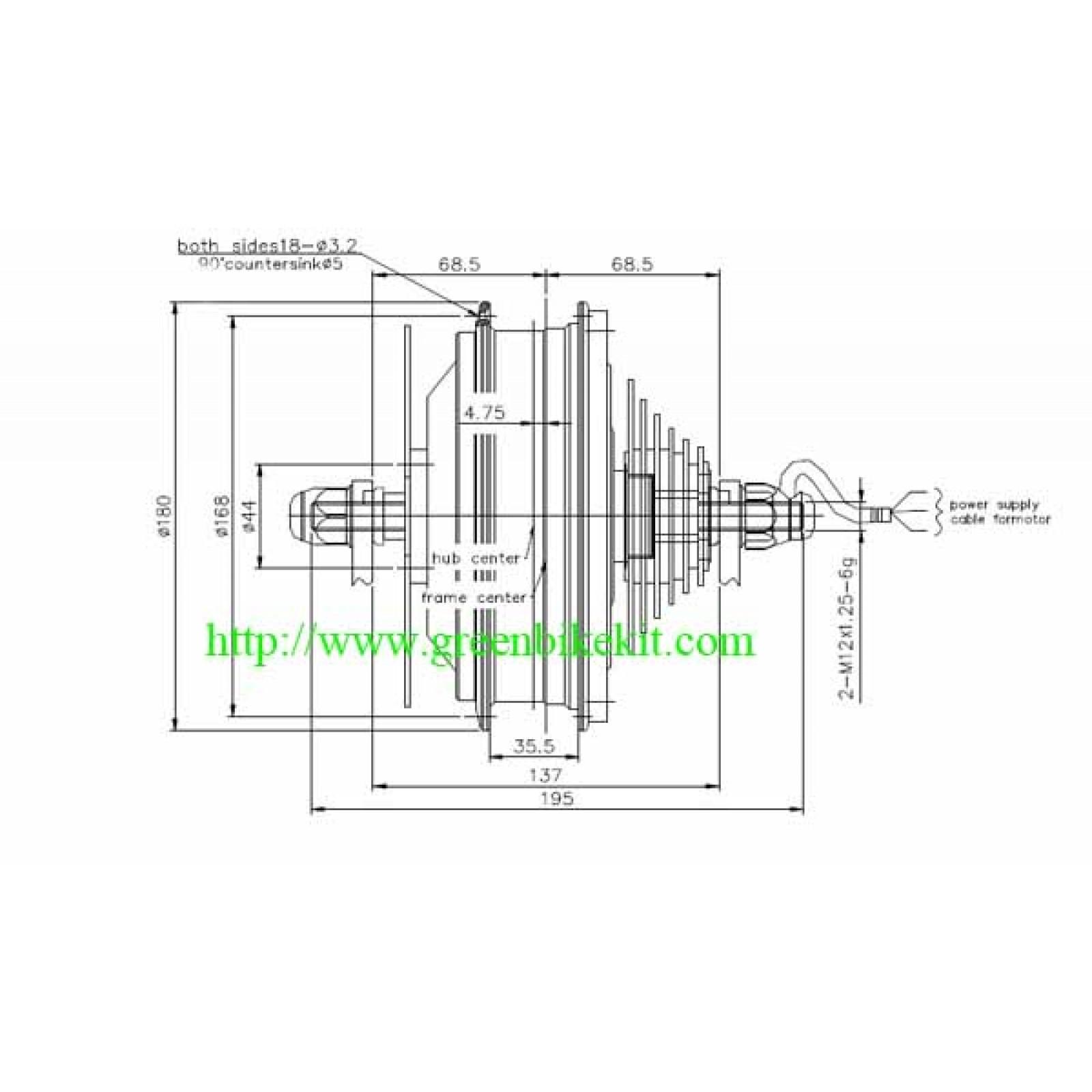 Bafang Bpm Bldc Motor 8fun Hub Engine Motor Kit For