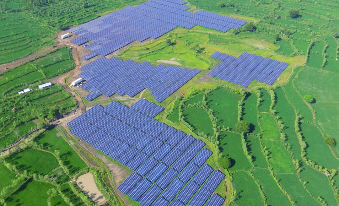 Innovators in Indonesia are advancing renewable energy Solar panels in Sulawesi, Indonesia.