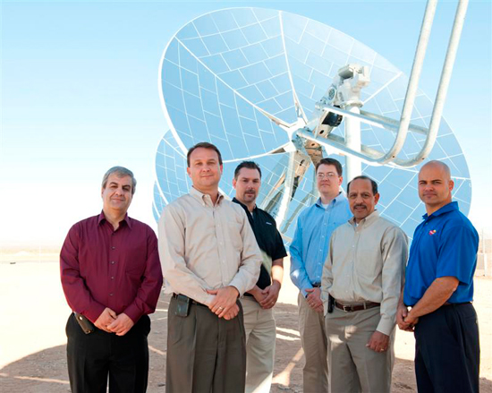The Casa Grande Near Net Zero engineering team (Al Halvorsen second from left).