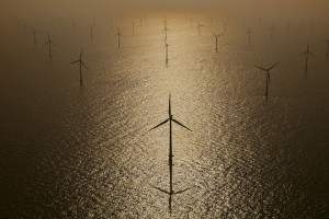 Windmills at sea