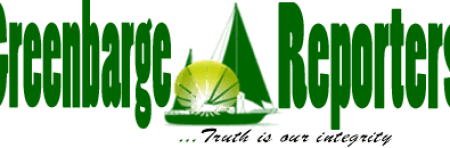 The Greenbarge Reporters New Logo