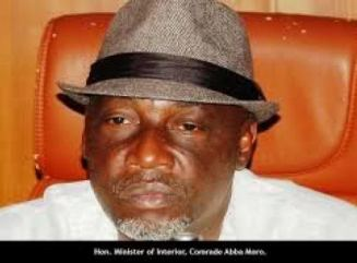 Nigeria Minister of Interior, Abba Moro