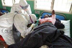 Ebola Fever Patient