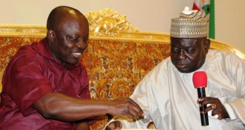 Gov Emmanuel Uduaghan and Gov Babangida Aliyu