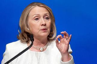 Former U.S Secretary of State, Hillary Clinton