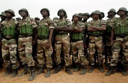 Nigerian Spldiers