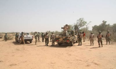 File photo: Nigerian army on patrol