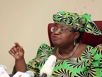 Financial Minister, Okonjo Iweala