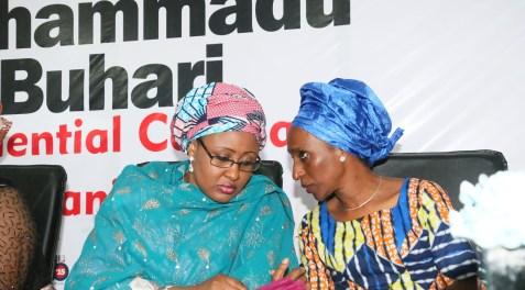Buhari Osinbajo wives