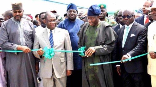 Jonathan Commissions Egbin Power Station