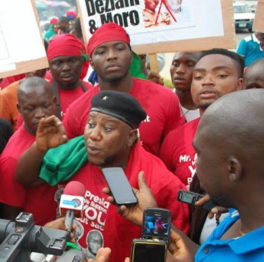 File photo: Niger Delta Coalition Group