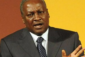 Ghanian President, John Dramani Mahama