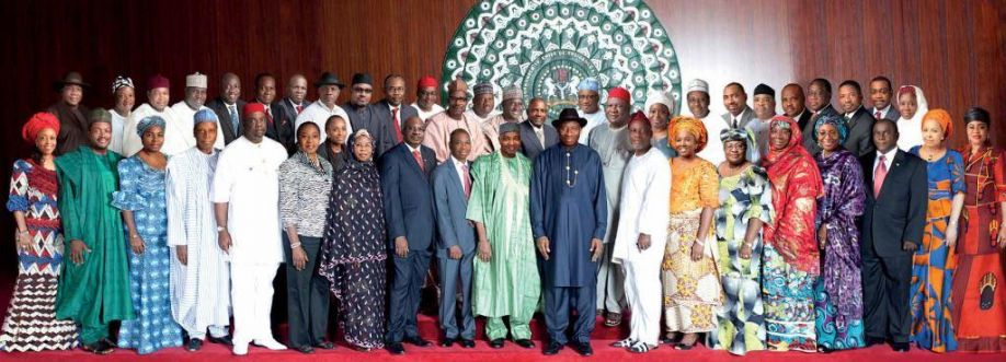 Image result for goodluck jonathan cabinet