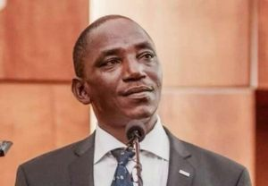 Sports Minister, Barrister Solomon Dalung
