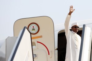 PRESIDENT BUHARI DEPARTS FOR IRAN 1A&B&2. President Muhammadu Buhari departs Abuja for the 3RD Gas Exporting Countries' Forum (GECF)taking place in Tehran, Iran from Presidential Wings of the Nnamdi Azikwe International Airport, Abuja. PHOTO; SUNDAY AGHAEZE. NOV 22 2015.