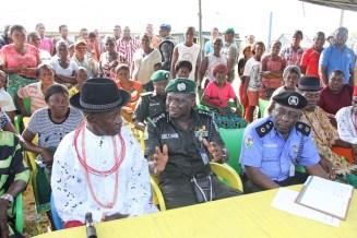 IGP Idris In Niger Delta