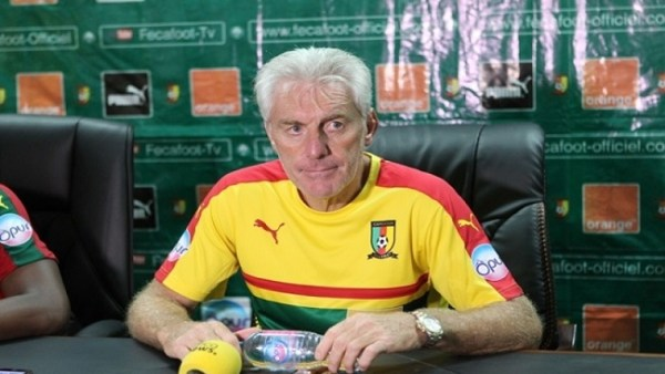 Indomitable Lions' Coach, Hugo Broos