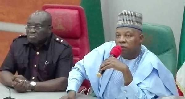 Abia state Governor, Okezie Ikpeazu and Borno State governor, Kashim Shettima