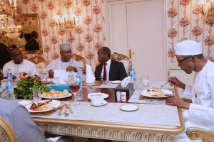 Dinner with Buhari etc